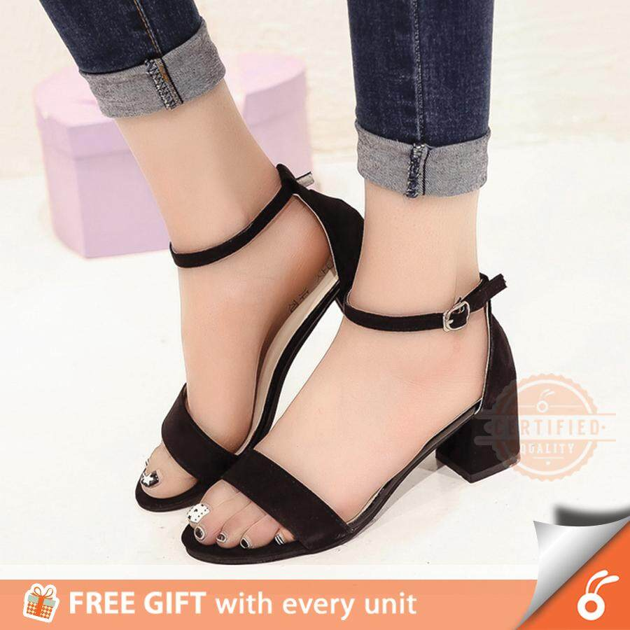 de0636d14a5 [70-G1/G2] 1001 HARPER Lady OL Women Open Toe Shoes Thick Mid High Heel  Sandal Wedges - FREE GIFT WITH EVERY UNIT