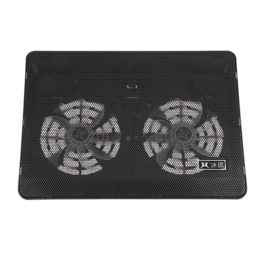 MagiDeal Laptops Cooler Cooling Pad Notebook Computer Radiator Fan with Cable Black