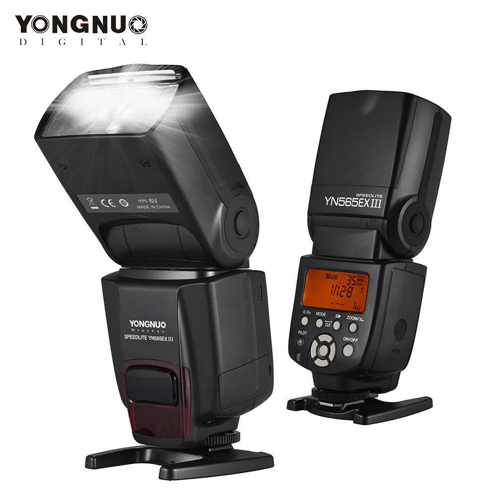 YONGNUO YN565EX III Wireless TTL Slave Flash Speedlite GN58 High Speed Recycling System Supports USB Firmware Upgrade for Canon DSLR Camera