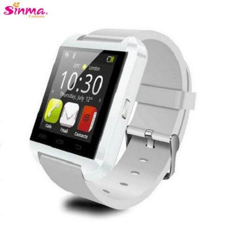 U8 Watch Bluetooth Touch Screen Smart Watch (White) Malaysia