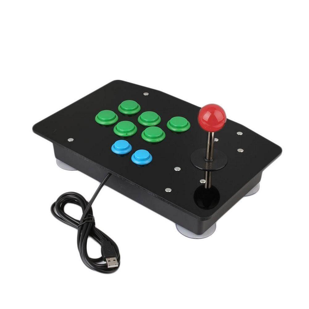 Gaming Joystick Arcade Fighting Stick Comfortable Acrylic USB Plug and Play Notebooks - intl