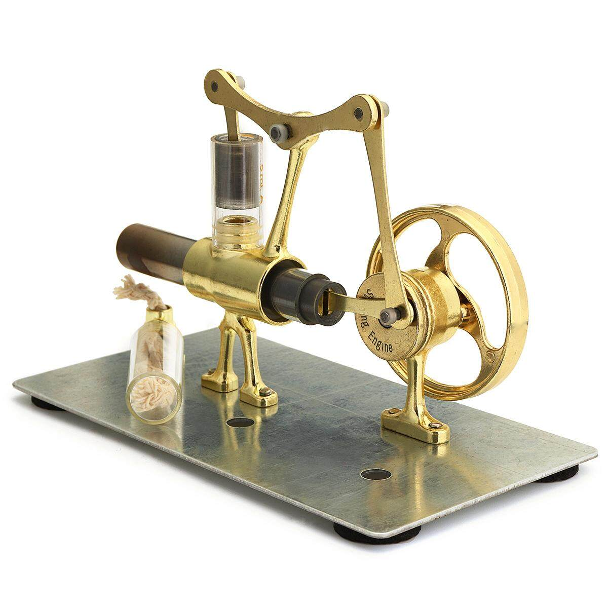 Hot Air Stirling Engine Model Power Generator Motor Educational Steam Power Toy - Intl By Channy.