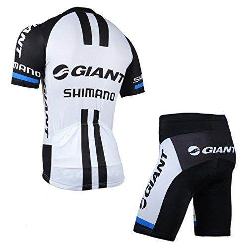 FC 2014 Outdoor Sports Pro Team Men`s Short Sleeve Giant Shimano Cycling Jersey and Shorts Set