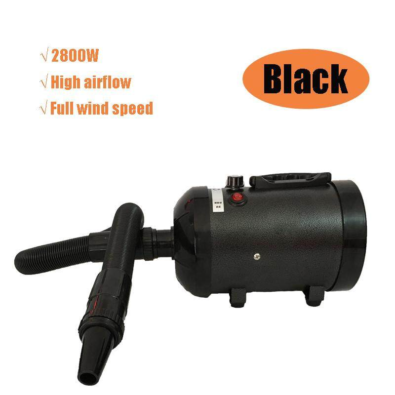 2800w Low Noise Pet Hair Dryer Dog Cat Grooming Blaster Heater Adjustable Blower - Intl By Audew.