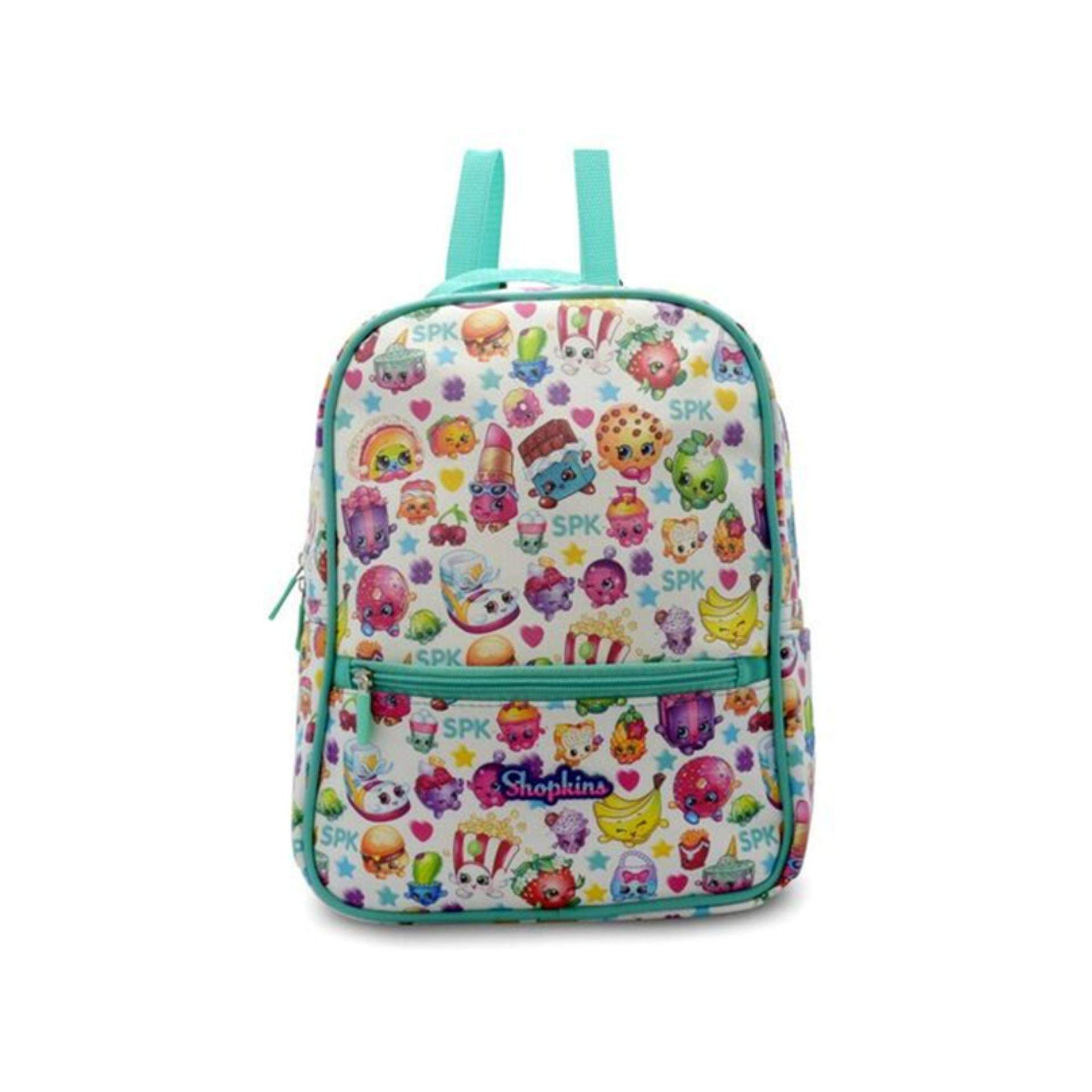 Shopkins Backpack School Bag 12.5 Inches - Light Blue Colour 7b36732ee99a4