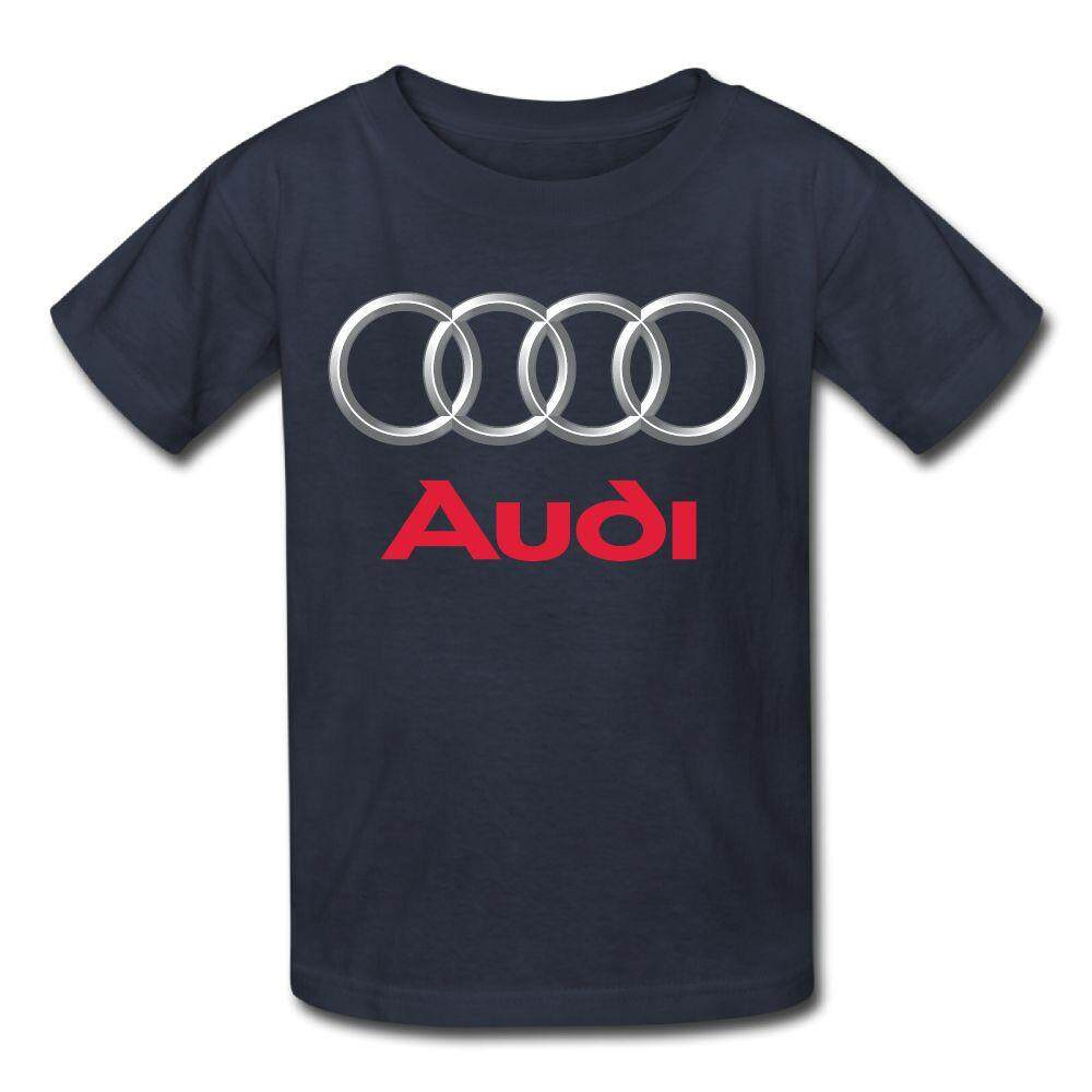 Yonth Anak-anak Jerman Audi Tertua Rental Mobil Kaos Bermerk Fashion Baru Olahraga Remaja Top-Intl