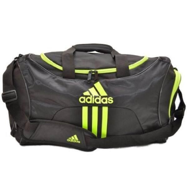 Adidas Scorer Medium Duffle Gym Bag in Black and Green 65f14df7c6c67