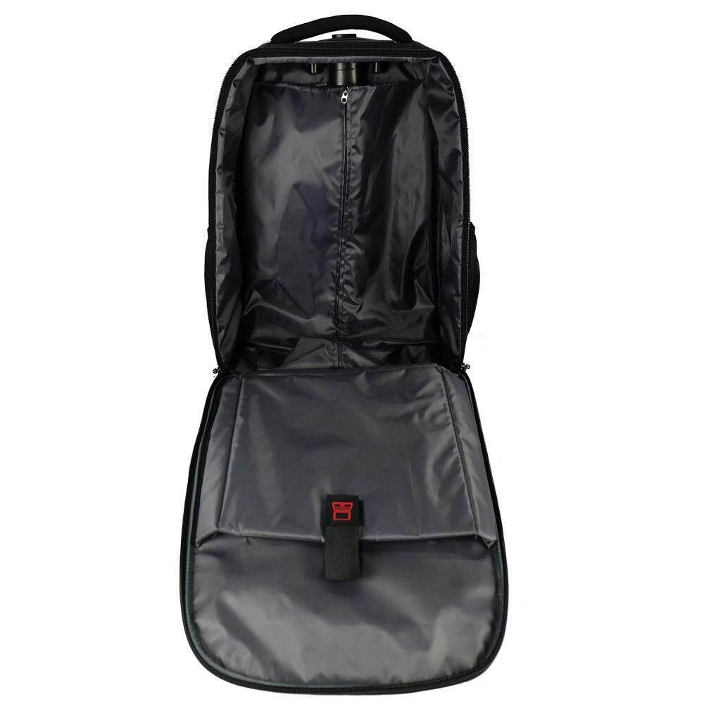 Waterpolo WN1808R - 21 inch T-Bar Trolley Backpack (Black)