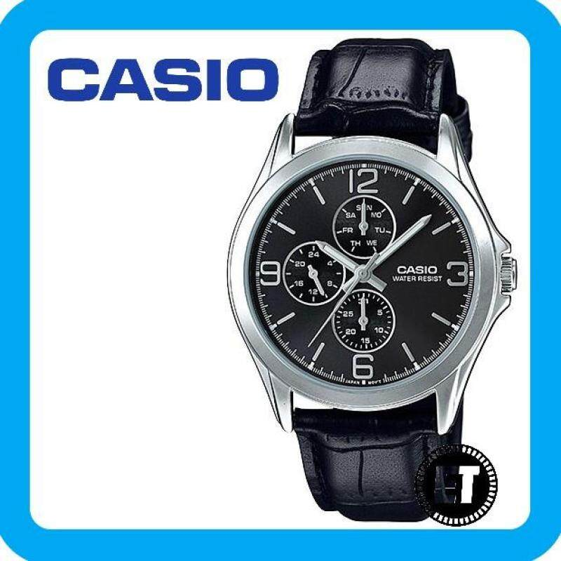 (2 YEARS WARRANTY) CASIO ORIGINAL MTP-V301L-1A ANALOG-MENS WATCH Malaysia