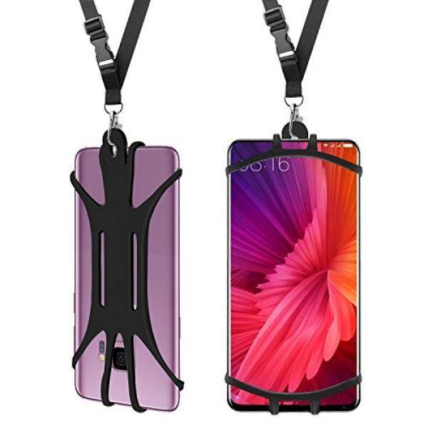 Handsfree Cell Phone Lanyard Case,Universal Suitable for Most of Smartphone with Adjustable Neck Strap Holder For Sport No Pocket Children Elder iPhone X 8 7 6 Plus 5 SE iPod Samsung Galaxy S9 S8 S7