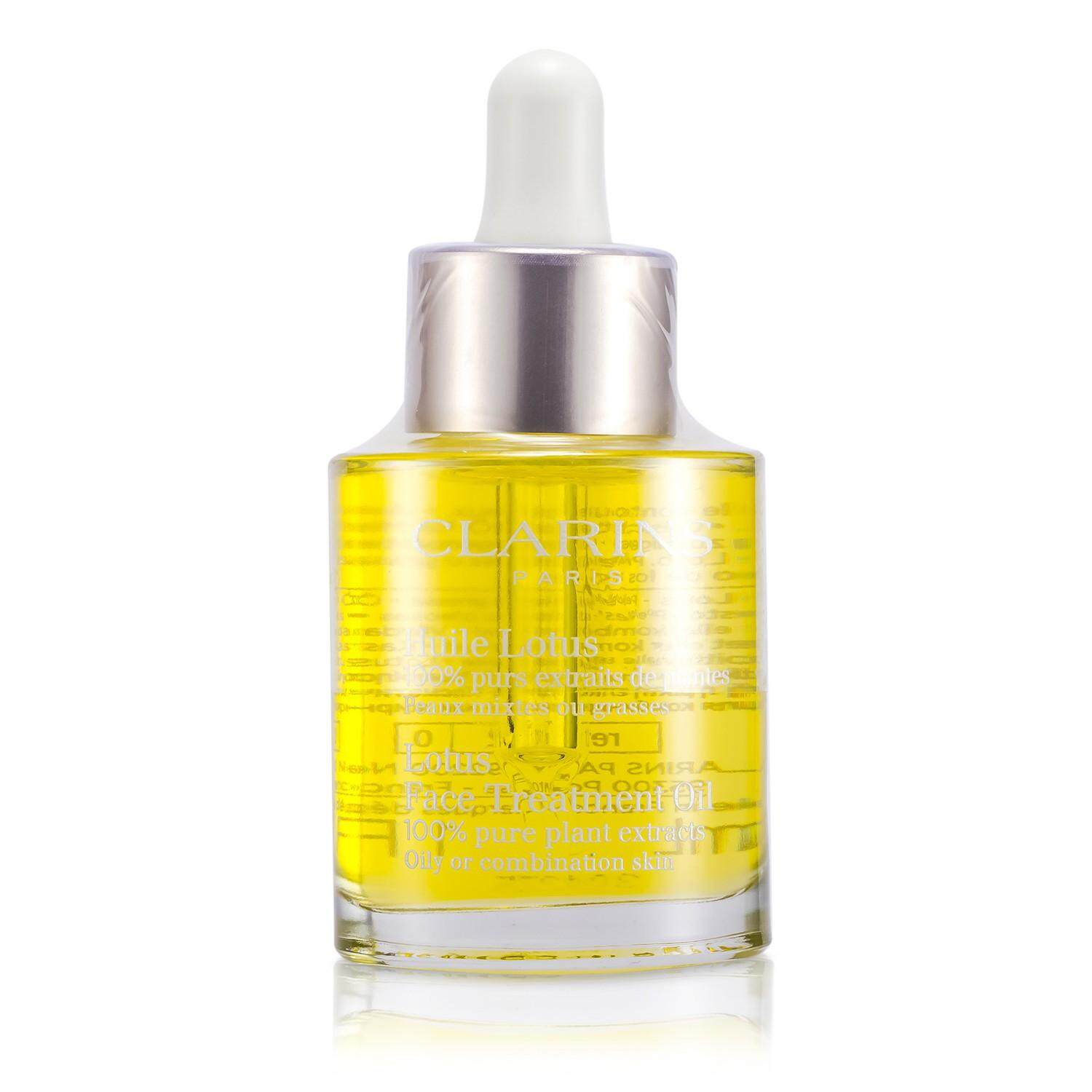 Features Clarins Face Treatment Oil Lotus For Oily Or Combination Hydraquench Cream Gel Normal To Skin 15ml 2