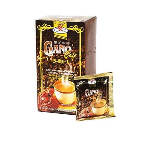 Gano Cafe 3 in 1 Premix Coffee with Ganoderma Extract (20sachets x 21g)