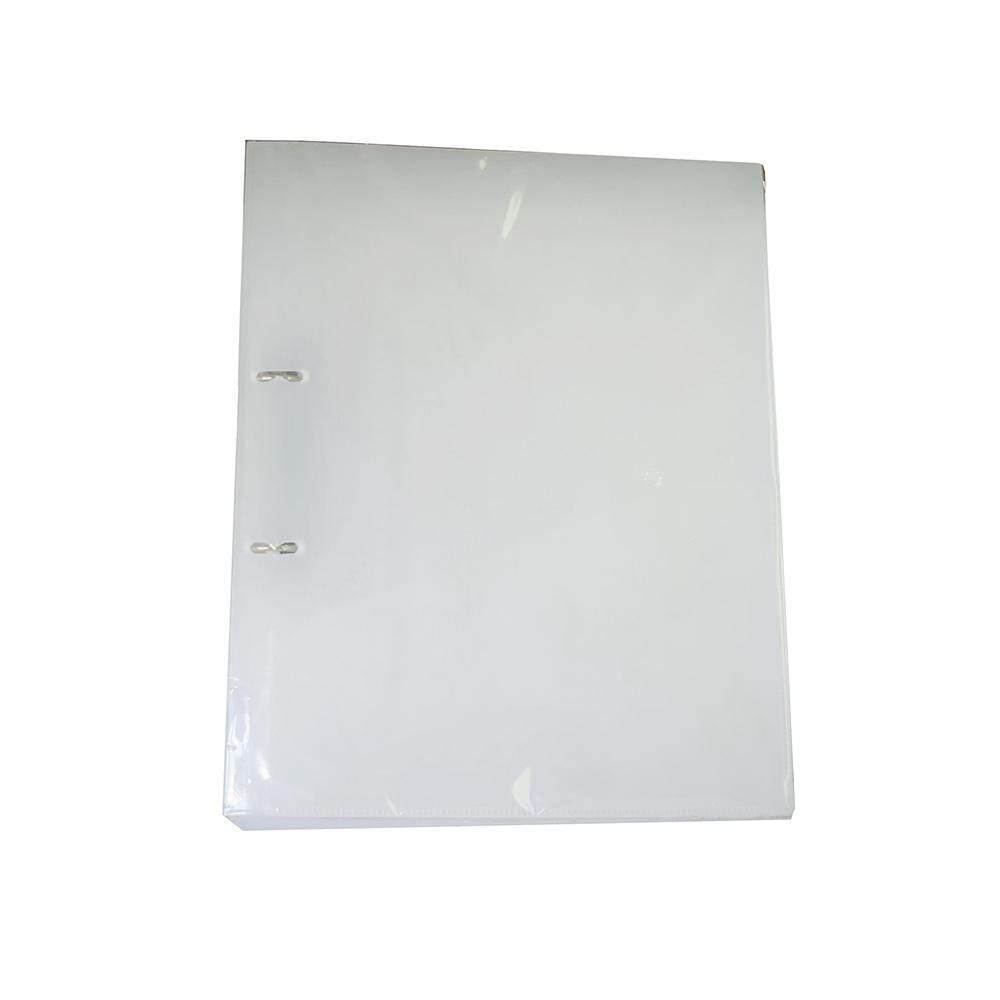 CBE 2D626 2-D PP Ring File (A4) White