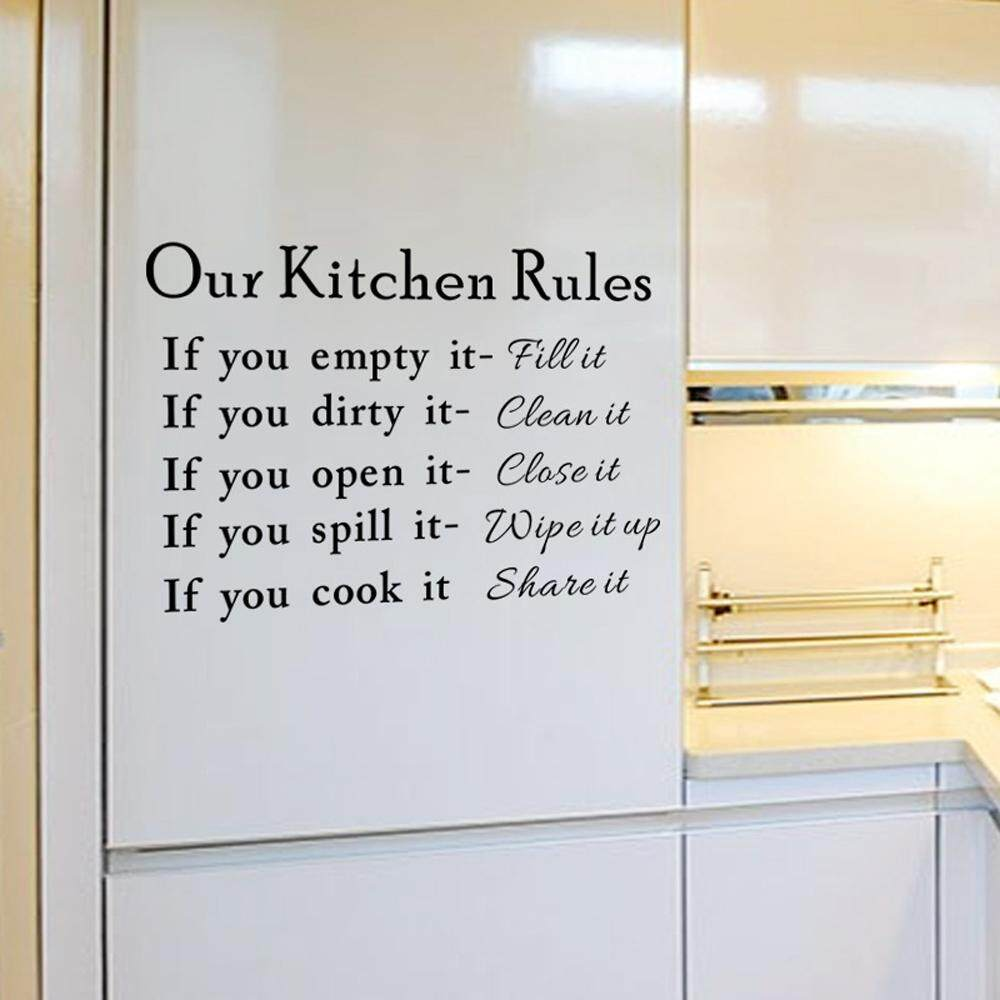 Sell kitchen rules metal cheapest best quality | My Store