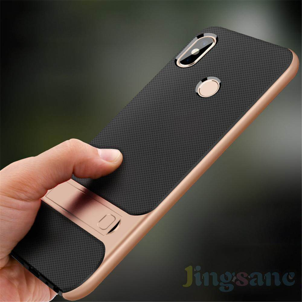 Untuk Xiaomi Redmi Note 5 Ponsel Casing Mewah Anti Guncangan Hibrida Grid Pola .