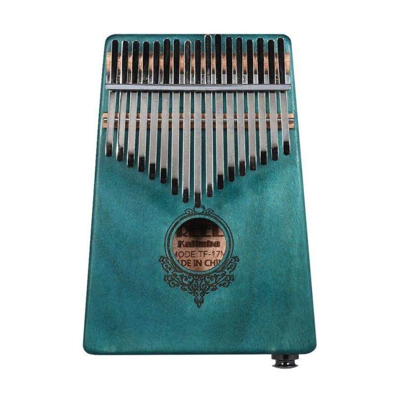 Hot Bán Hàng 17 Phím Kalimba Ngón Tay Cái Đàn Piano Kích Thước Bỏ Túi Ngón Tay Piano Gỗ Nhạc Cụ