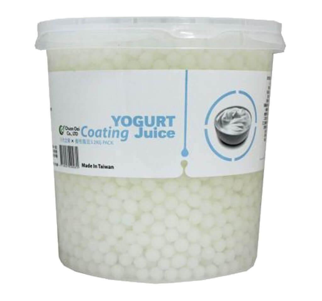 YOGURT COATING JUICE (BOBA)3.2KG