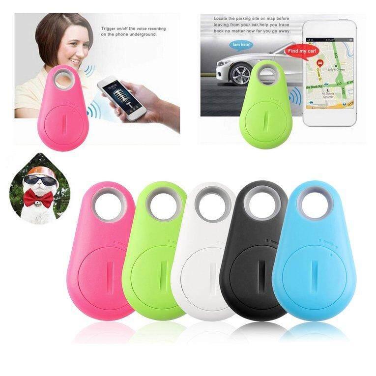 Chunnuan Bluetooth 4.0 Pet Tracker Anti-lost Key Finder Two Way Alarm Anti-Theft Device - intl