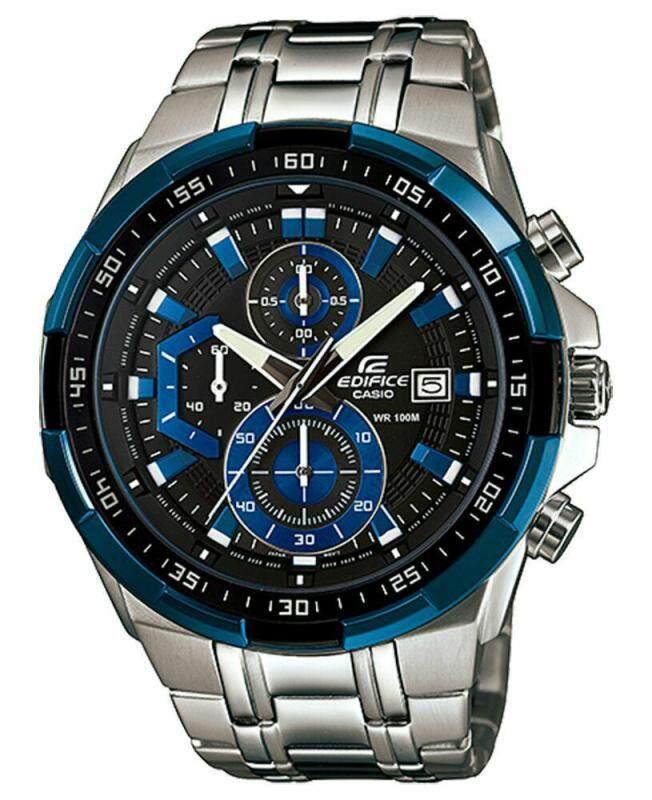 (Ramadan Promotion)  Casio EDIFICE efr 5345 Blue DialLimited Time Promotion Malaysia
