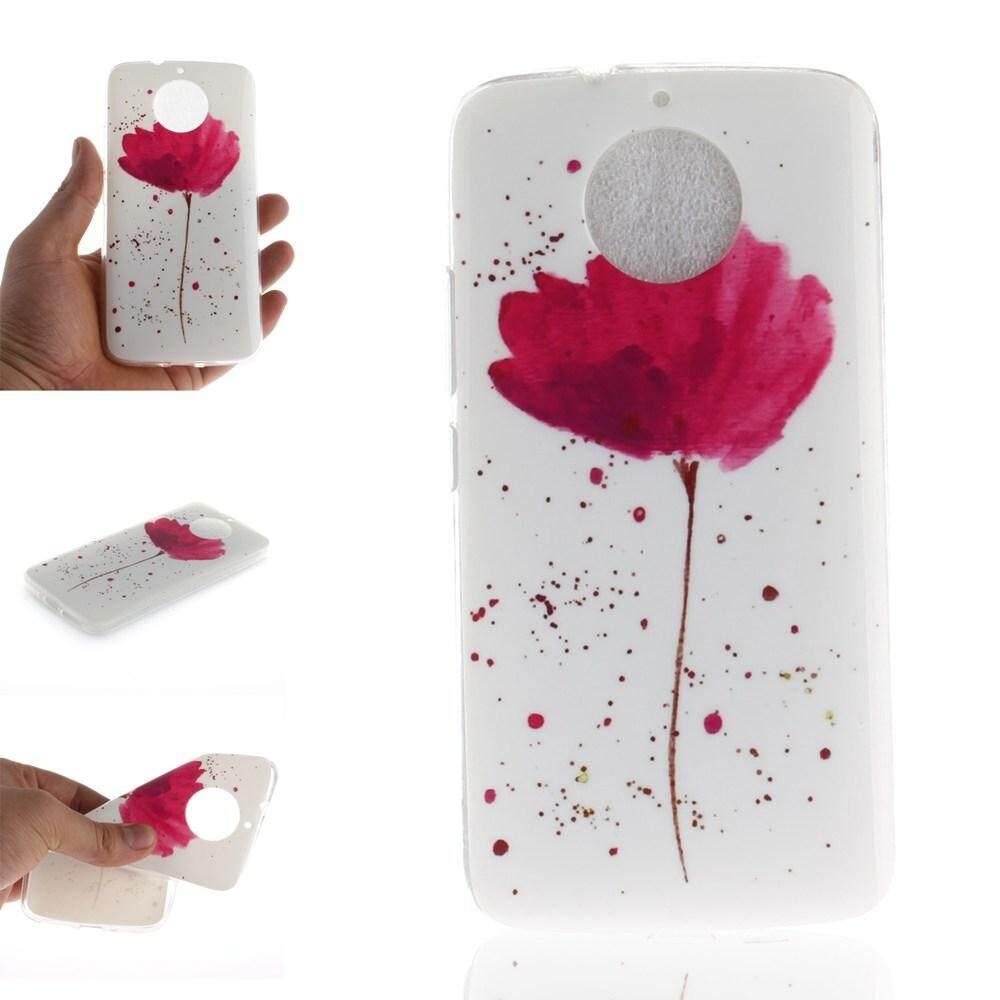 Case for Motorola Moto G5S Clear Soft Cute Cartoon Pattern Design TPU Transparent Protective Cover -