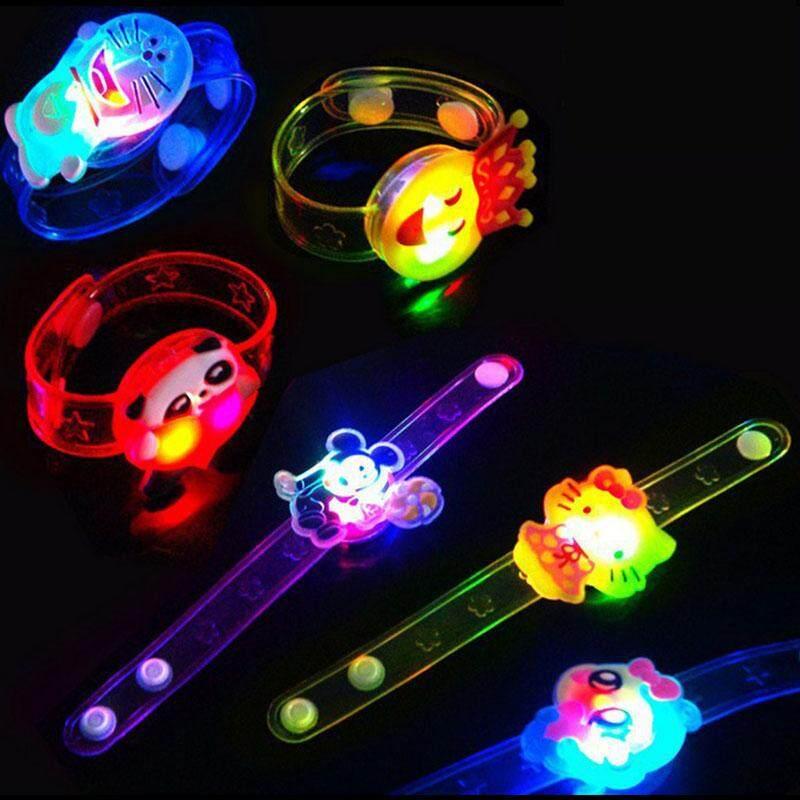 Hot Bracelet Led Night Light Colorful Personality Kids Children Wristband Toy By Lejun Store.