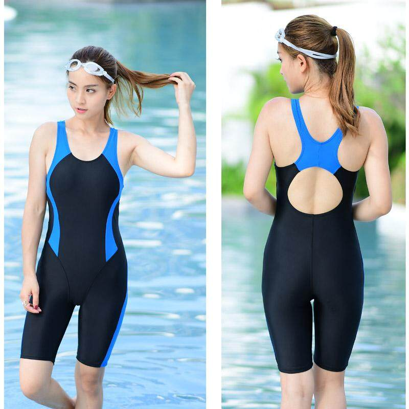 c7065625913 Swimsuits for Women Tummy Control Sports Boyleg One Piece Racing Training Athletic  Bathing Suits