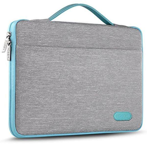 Laptop Briefcases HSEOK 13-13.3 Inch Laptop Sleeve Case Bag for 13 MacBook Air MacBook Pro Retina Late 2012 - Early 2016 Most 14 Inch Dell/Ausu/Acer/HP/Toshiba/Lenovo,Spill-Resistant Laptop Bag Case Cover, Gray - intl