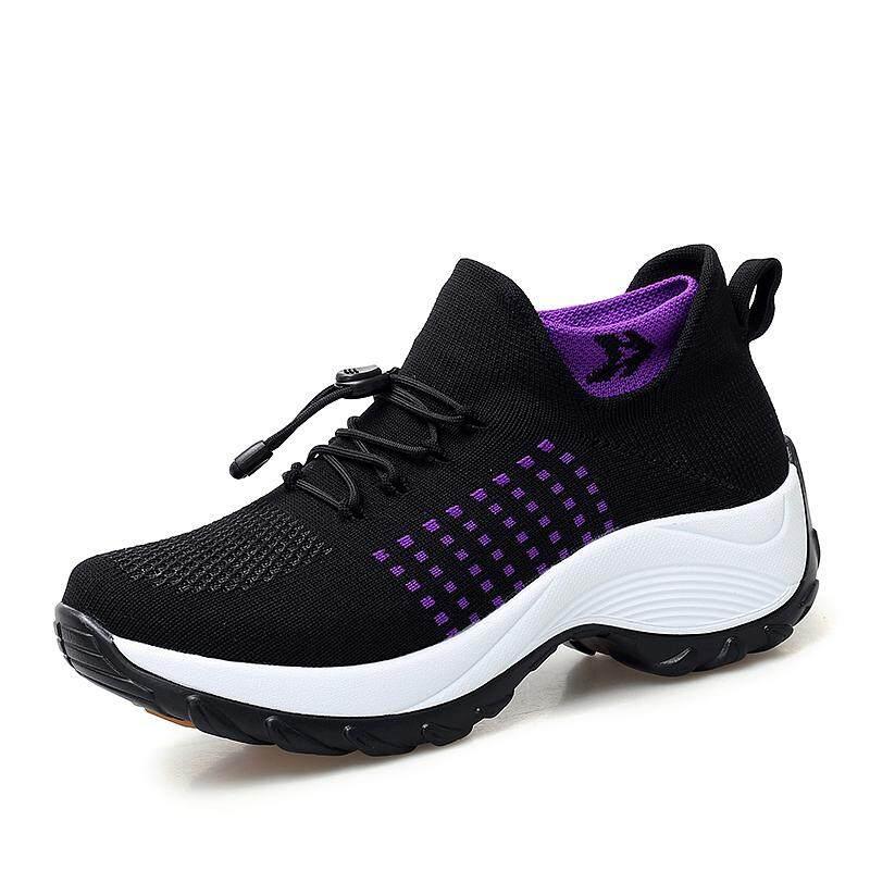 EU35-42 Ukuran Besar Kualitas Tinggi wanita Mode Sneakers Tubuh Ramping Sepatu Kasual Sepatu Tari