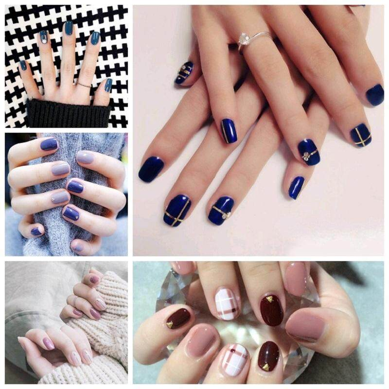 5pcs/lot Nail Art Stickers Small Fresh 3d Wraps Decal Self Adhesive Charm Butterfly Manicure Slider Decoration Random By Ouyang.