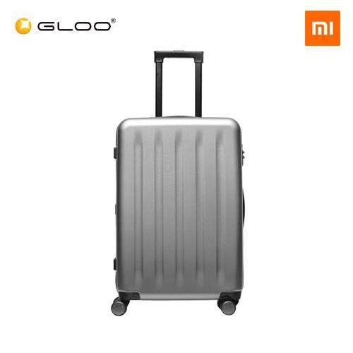 "Mi Trolley 90 Points Suitcase 24"" (White/ Grey)"