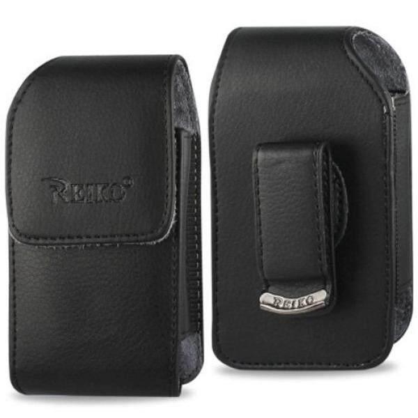 Smartphone Case S Case S Vertikal Case Kulit dengan Magnetic Penutupan dengan Klip Sabuk untuk Samsung Konvoi 4.-Intl