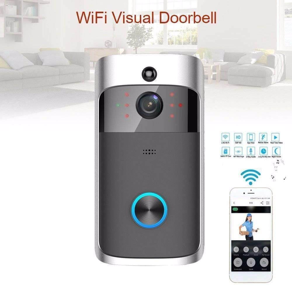 Sway WiFi Ring Doorbell Smart Wireless Bell Camera Video Phone Intercom Home Security