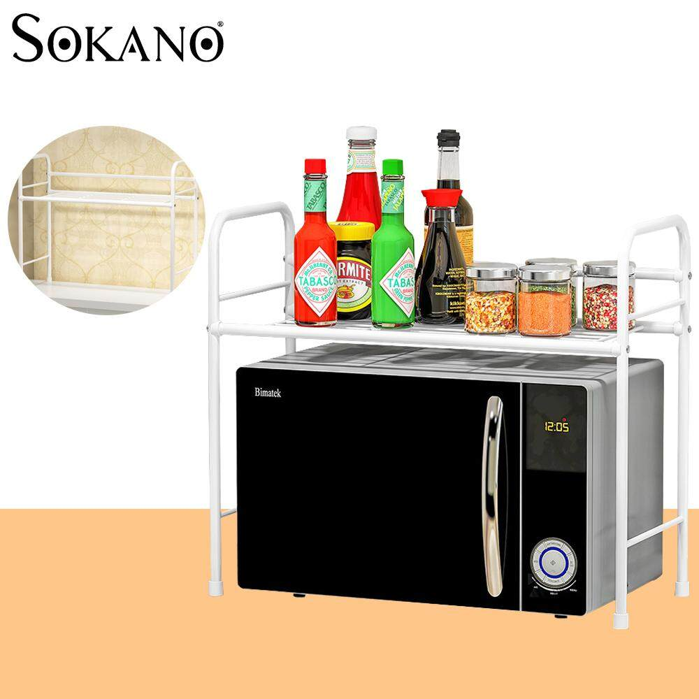 (RAYA 2019) SOKANO Z302 Space Saver Stainless Steel Multifunctional Oven Rack Kitchen Dapur Rack