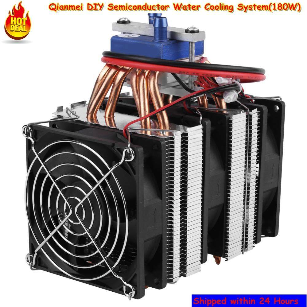 Qianmei Thermoelectric Cooler DIY Semiconductor Refrigeration Water Chiller Cooling System Device (180W) Malaysia