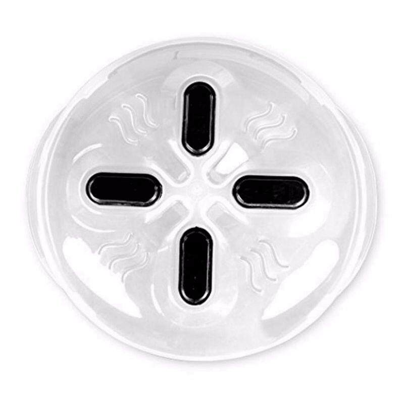 Magnet Food Splatter Guard Microwave Hover Anti-Sputtering Cover With Steam Openings Magnetic Splatter Lid Heat Resistant - Intl By Sillyshuai.