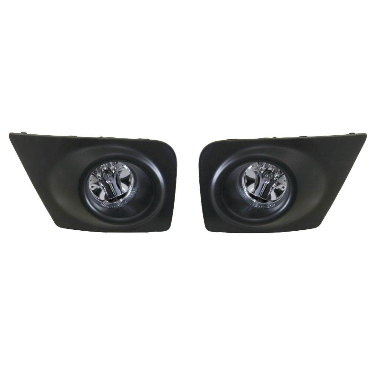 Features 1 Pair Replacement Front Bumper Fog Light Lamp For Triton Complete Mitsubishi Mn 2009 14