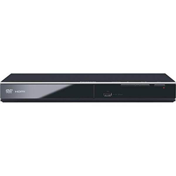 Panasonic DVD Player DVD-S700 (Black) Upconvert DVDs to 1080p Detail, Dolby Sound from DVD/CDs View Content Via USB - intl