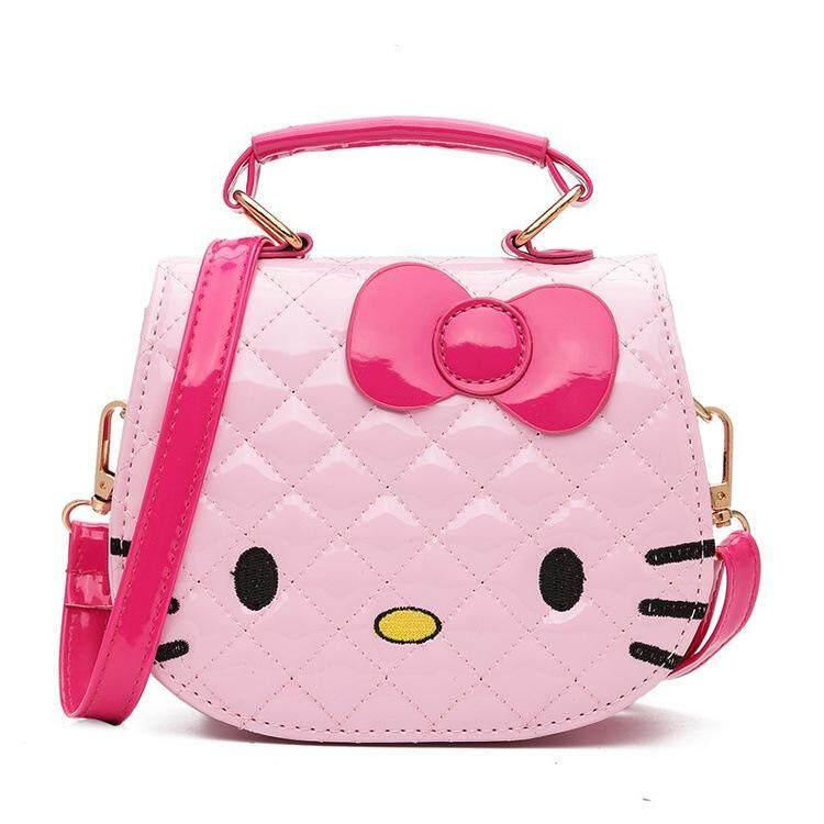 Hello Kitty Sling Bag Princess Female Mini Handbag Shoulder Children S Cute Cartoon Tote
