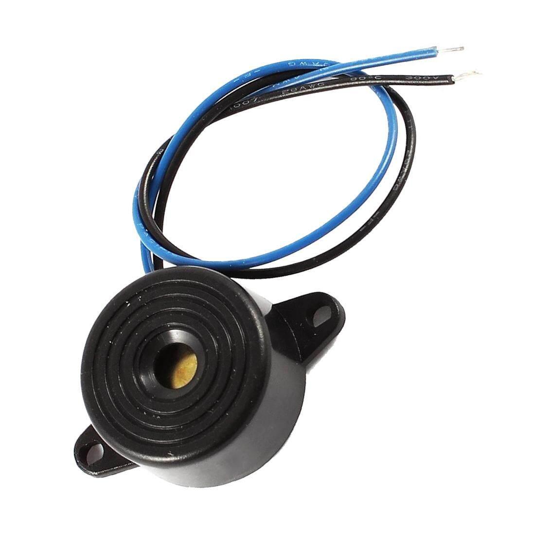Detail Gambar Industrial Sound Electronic Buzzer Sounder DC 3-24V Black Terbaru