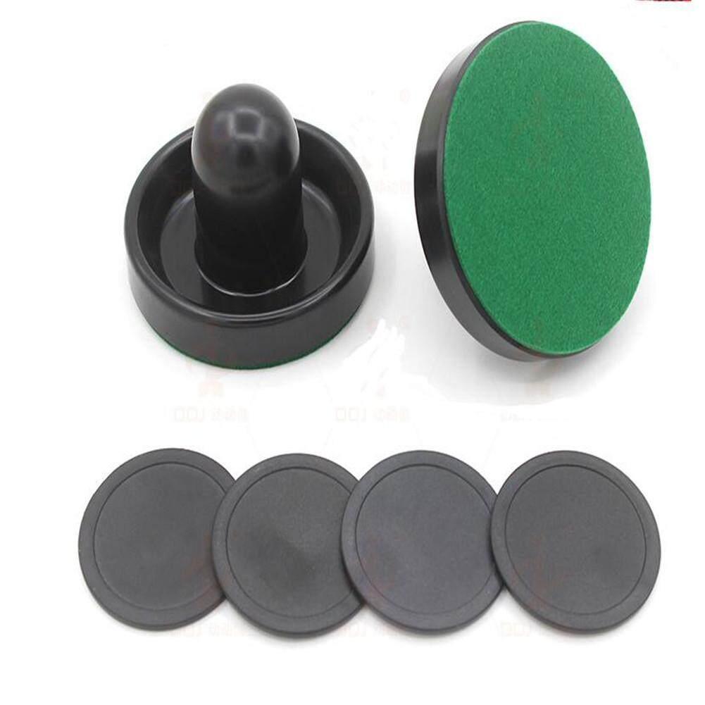 Hình ảnh Indoor 60mm Air Hockey Table Felt Pusher Set Hockey Pucks Accessory