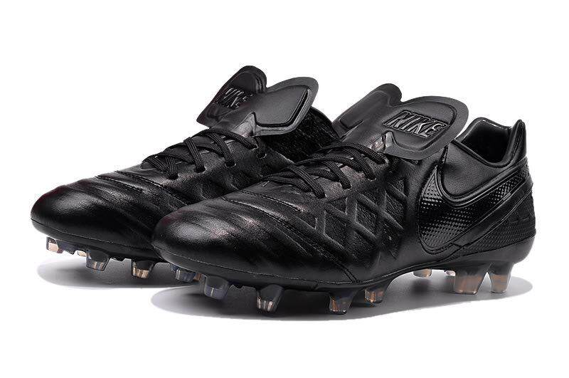 Timed Promotions Lace-up Football Shoes Tiempo.Legend VI 6th FG Soccer Mens Size 39-45 Outdoor Football Sneakers (Black) - intl