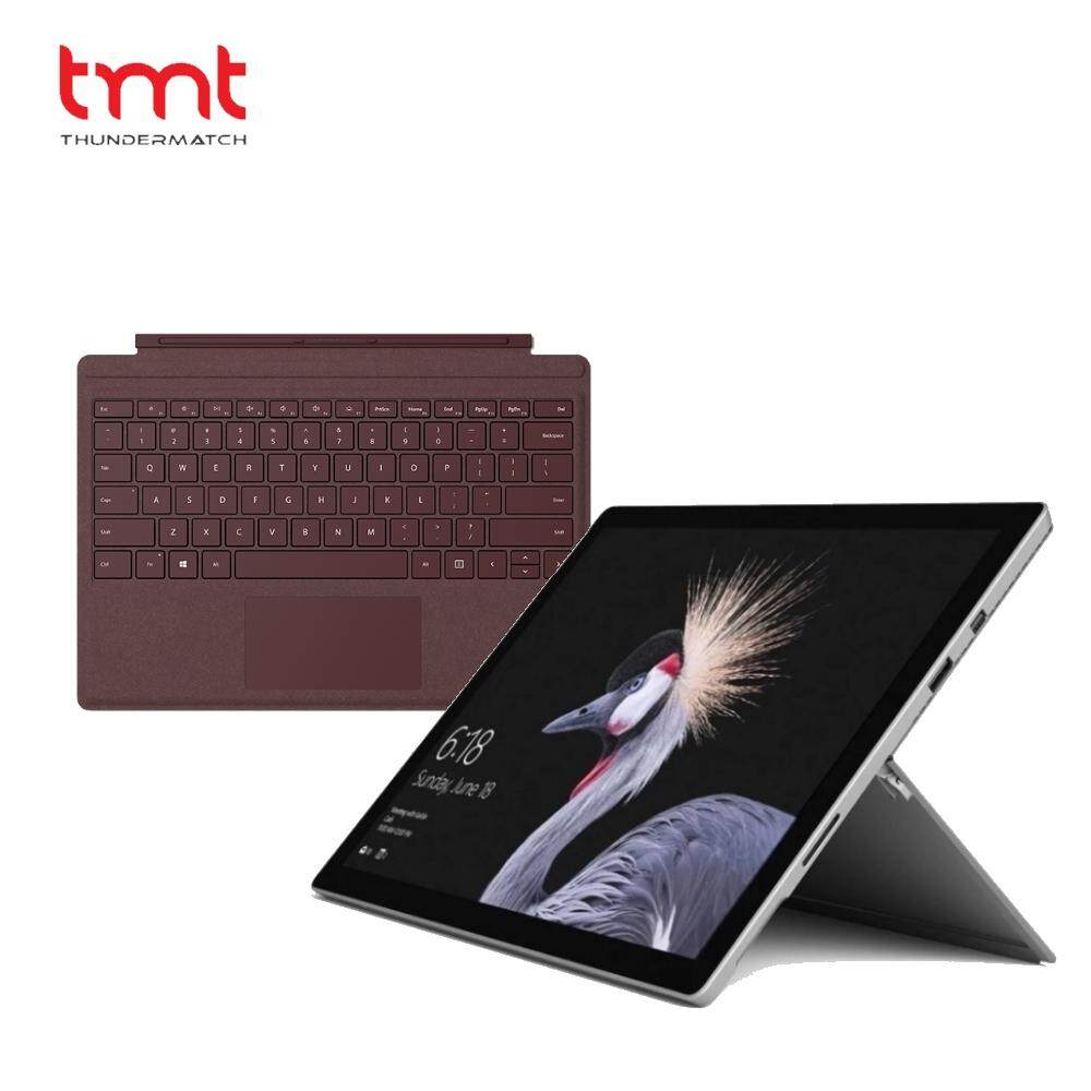 Microsoft New Surface Pro i5 128GB SSD/ 8GB RAM Bundle with Type Cover Malaysia