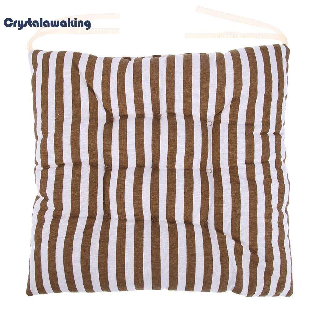 Stripe Sofa Cushion Mat Car Seat Pad Non-Slip Home Office Chair Cushion - intl