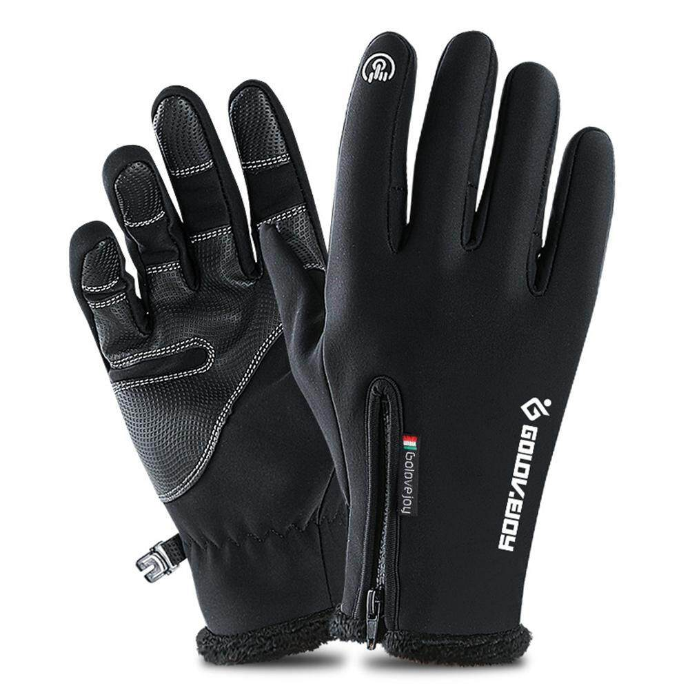 Auoker Winter Warm Ski Gloves, Touch Screen Gloves Waterproof Anti-Slip Climbing Snow Gloves