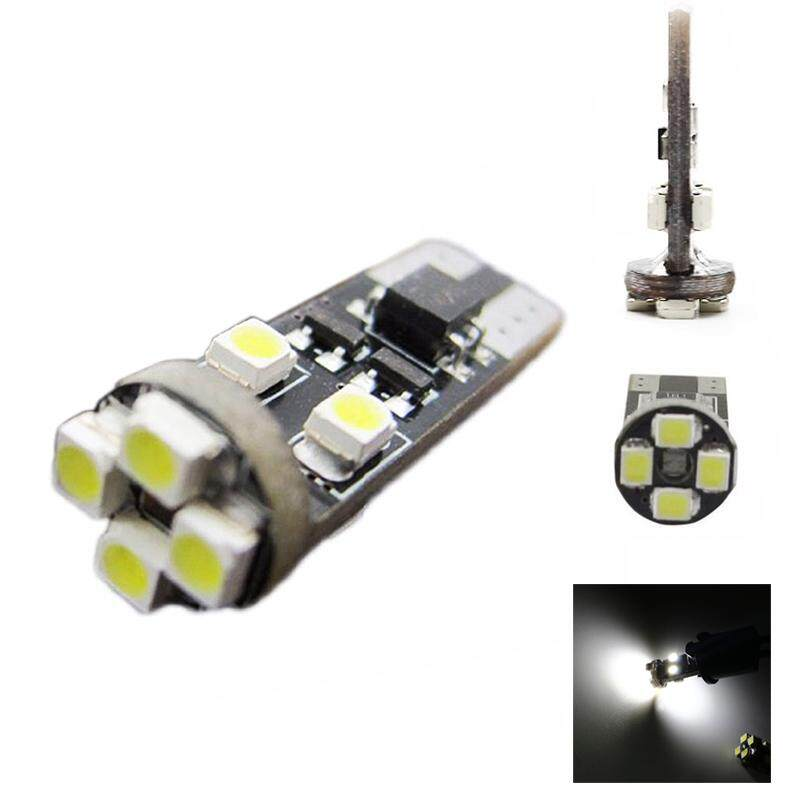 T10  CANBUS 8 SMD CAR BULBS LED ERROR FREE XENON WHITE W5W 501 SIDE LIGHT BULB