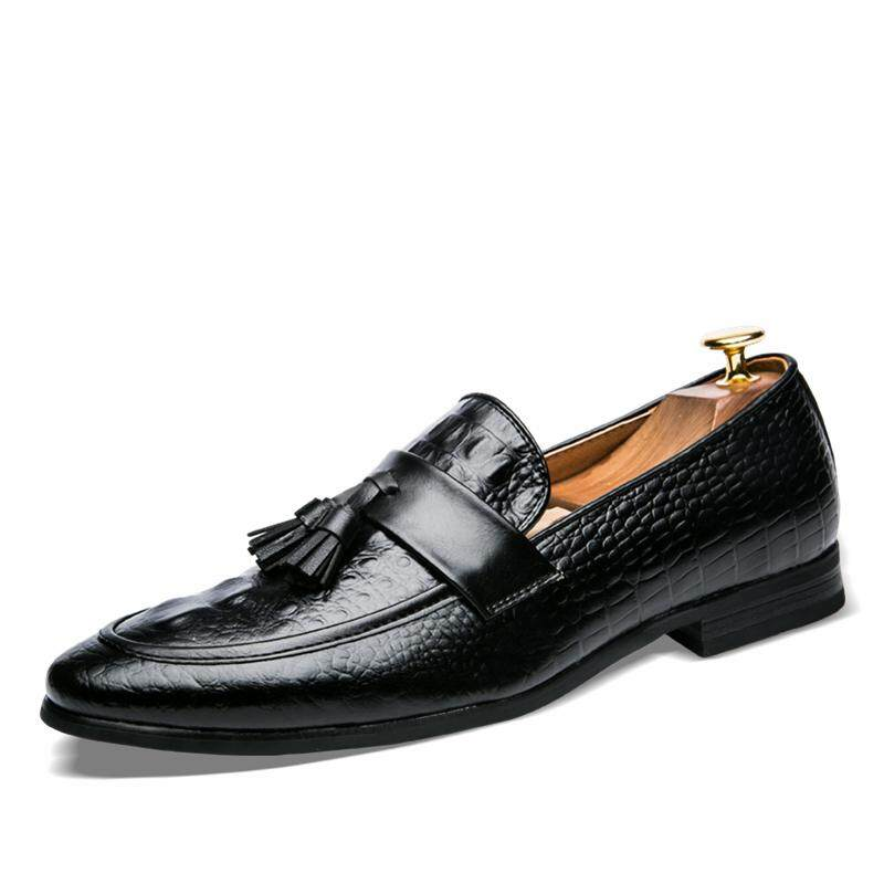 Business Formal Shoes Clic Office Wedding Mens Black