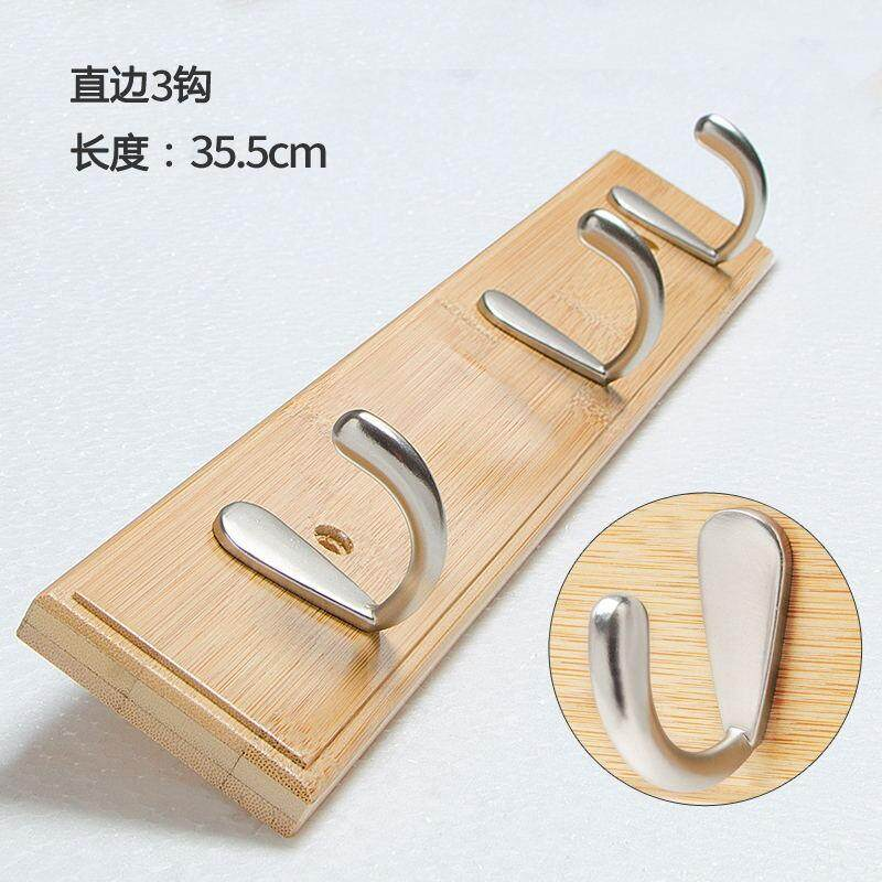 Wall Hangers Clothes Hook Creative Living Room Hallstand Hanging behind the Door Hook Solid Wood Bedroom Entrance Walls on the Clothes Rack