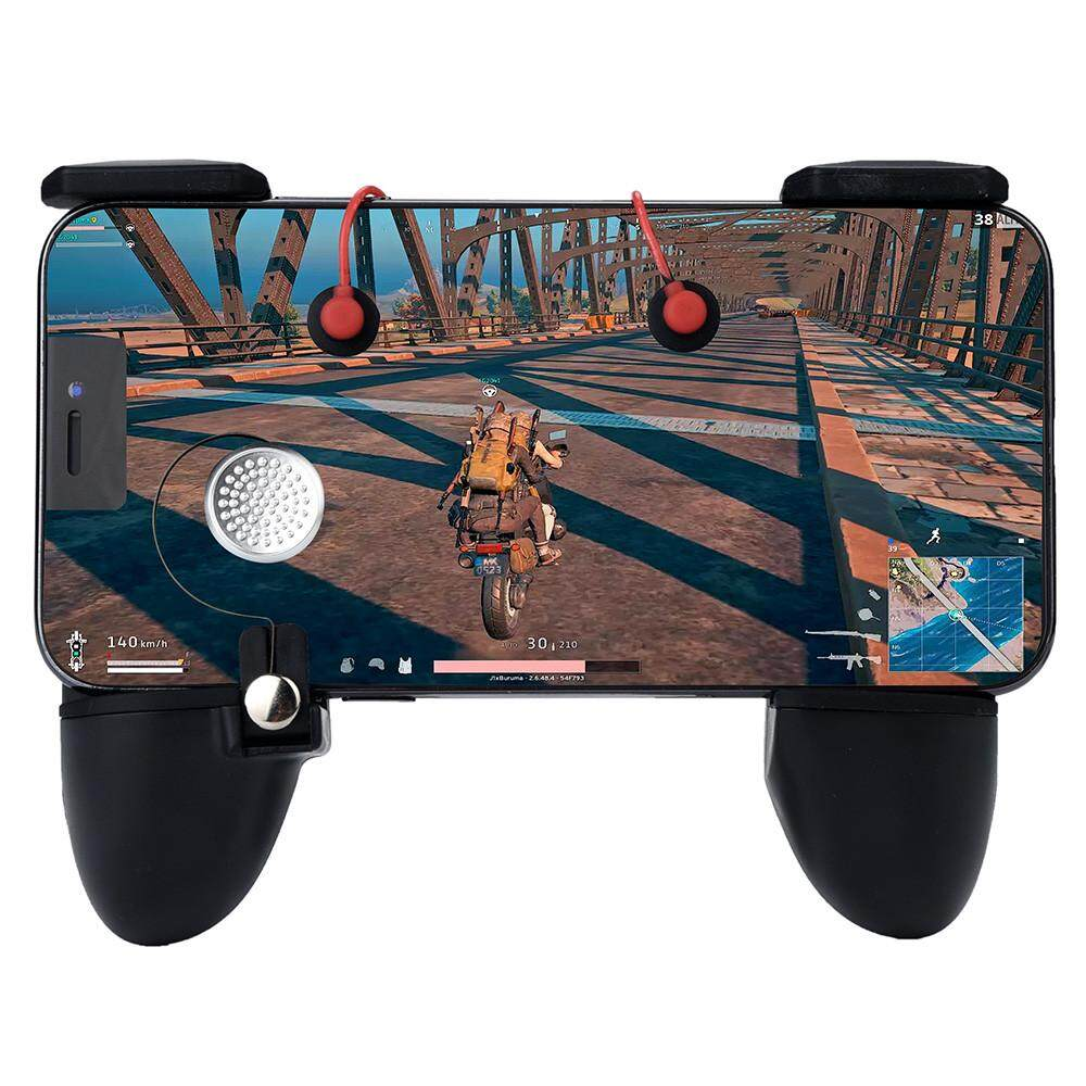 Mobile Game Controller Sensitive Shoot and Aim Trigger Fire Buttons For PUBG
