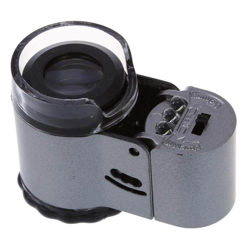 50 specialist Mini Pocket miniscope Loupe LED miniscope with lamp test function Counterfeit