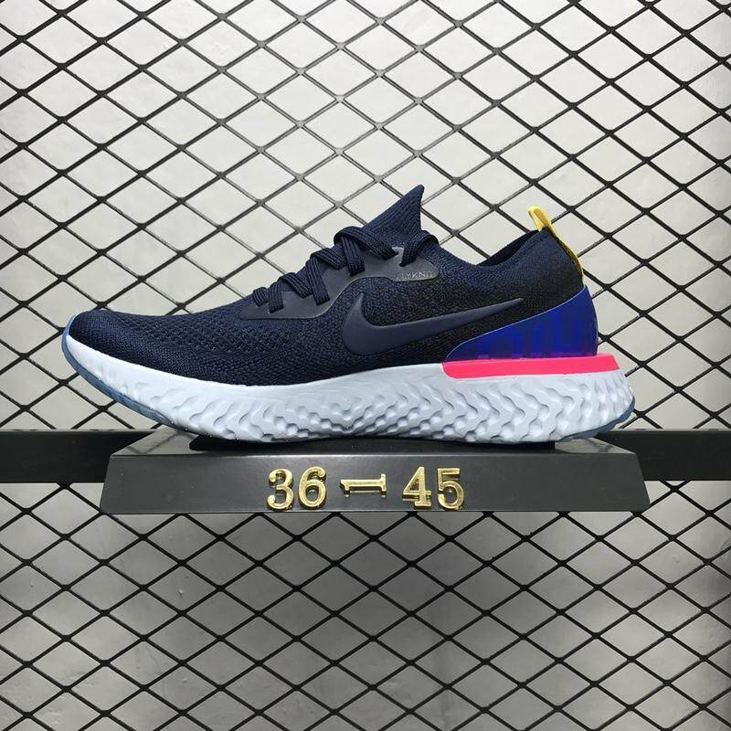 5783ee2455313 Original Nike Epic React Flyknit Foam Particle Knit Ultra-lightweight  Running Shoes